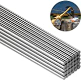 30 Pieces Copper Aluminum Welding Rods 0.08 x 10 Inch Universal Low Temperature Welding Cored Wire Multipurpose Copper Alumin