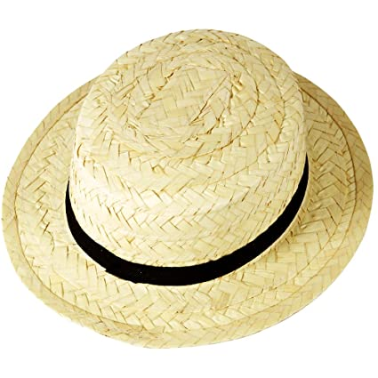 Amazon.com: Paja de los adultos Boater hat: Sports & Outdoors