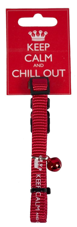 Keep Calm Collier pour chat Pet Brands Ltd uk pets PEUOE KC005