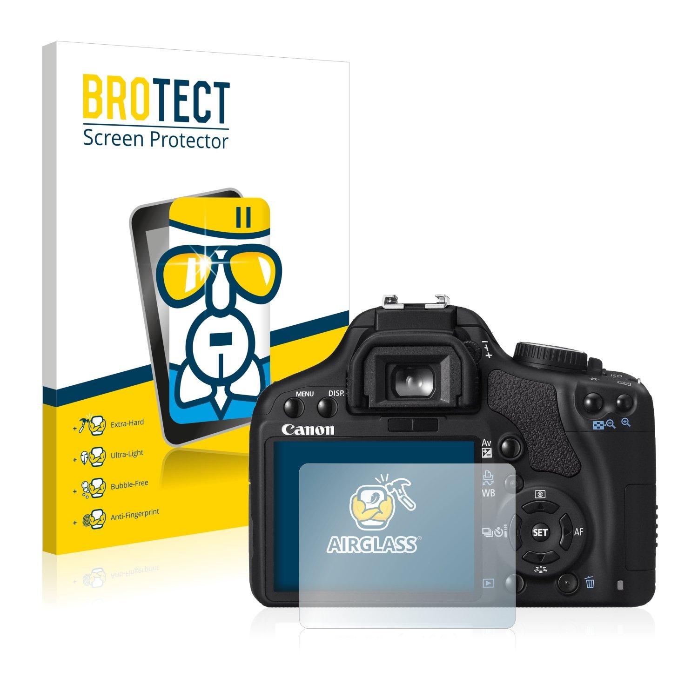 BROTECT Protector Pantalla Cristal Compatible con Canon EOS 450D ...