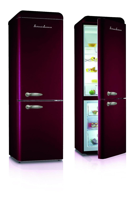 Schaub Lorenz sl300cbrw frigorífico Vintage Burdeos Mate inversa ...