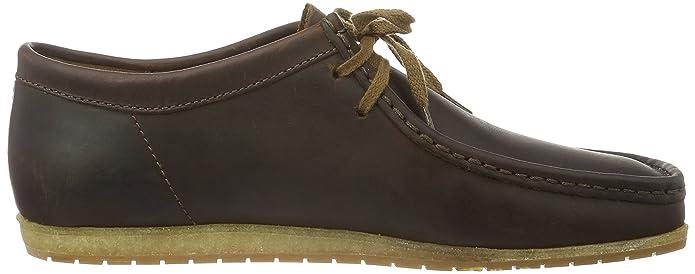 Clarks Originals Herren Wallabee Step Bootsschuhe Braun