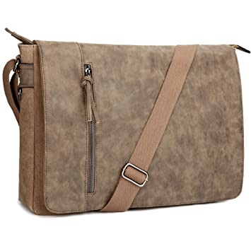 Amazon.com  Laptop Messenger Bag 16.5 inch for Men and Women f17004ba7