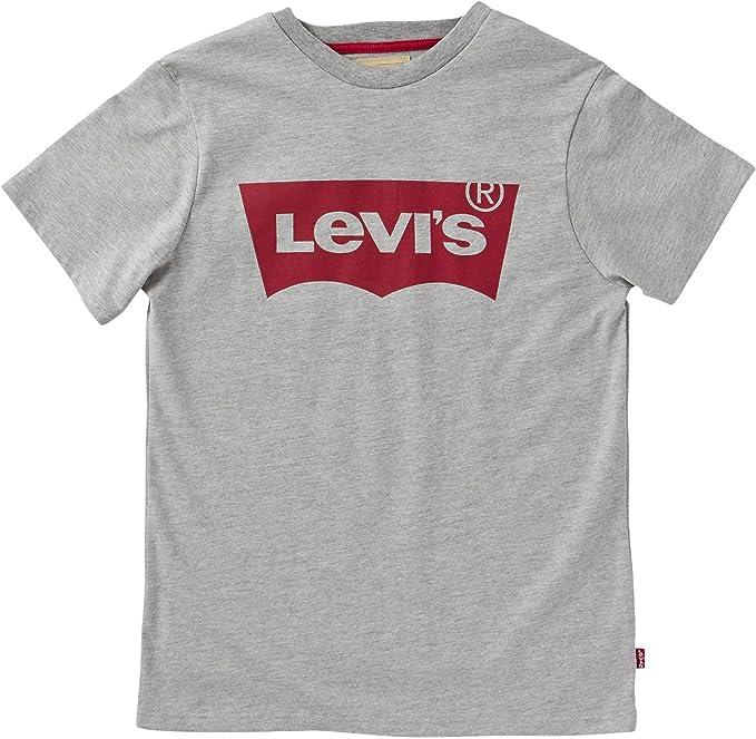 Levis kids Short Sleeves Batwin T-Shirt, Camiseta para Niños, Gris (Grey Melange 20), 14 años: Amazon.es: Ropa y accesorios