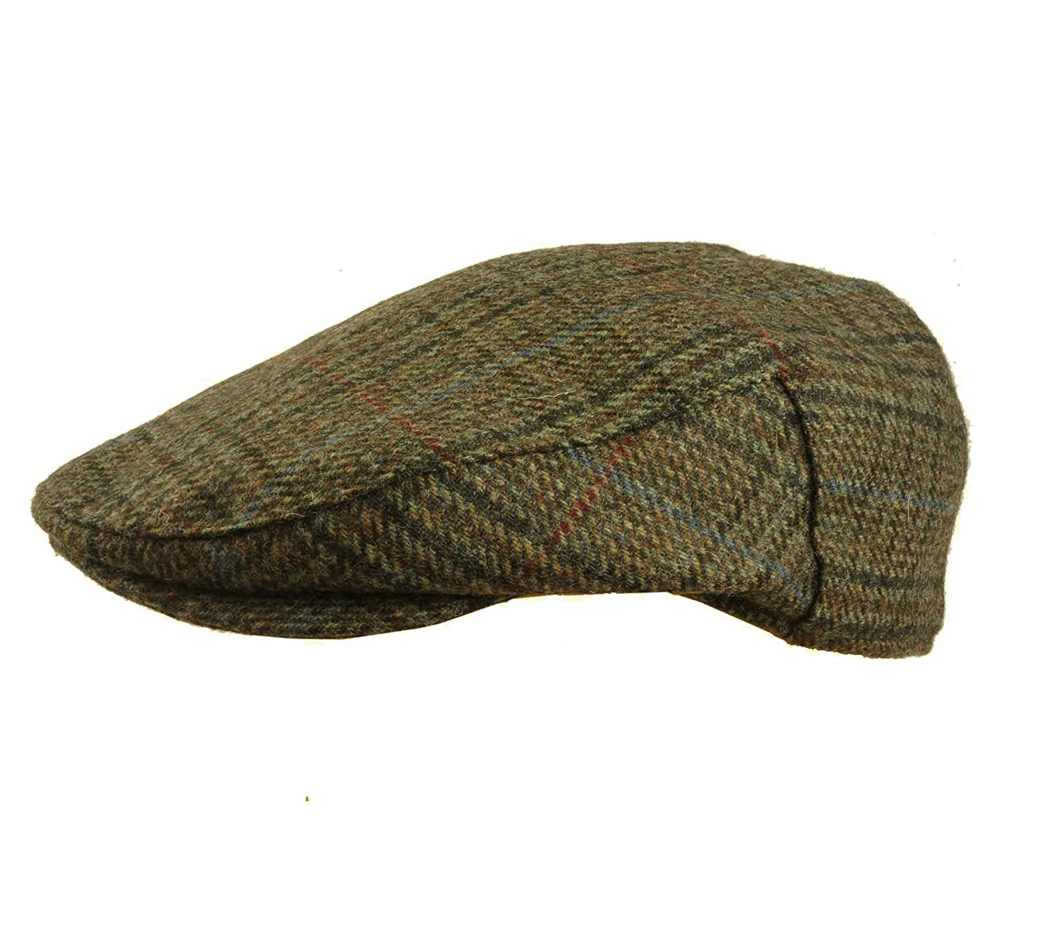 849f9b6667e Quality English Tweed Cap Earland Brothers Hats 100% Wool Moon Fabrics Made  by Failsworth 5 Tweeds  Amazon.co.uk  Clothing