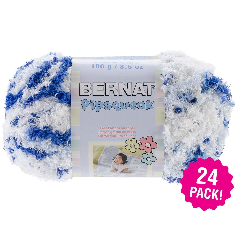 Bernat 97561 Pipsqueak Yarn 24/Pk-Blue Jean Swirl, Pack