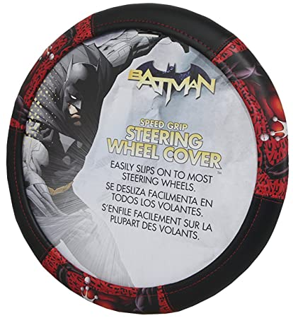 3615acaddf3007 Amazon.com  Harley Quinn Ha Ha Steering Wheel Cover - Car Truck SUV ...