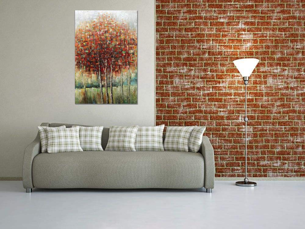 ArtWall Courtney Prahls The Seasons I Removable Wall Art Mural 14 x 18