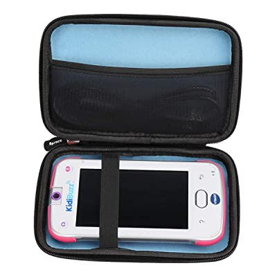 Aproca Hard Storage Travel Case Bag Fit VTech KidiBuzz / VTech KidiBuzz G2 Kids' Electronics Smart Device (Black - Inner Blue): Toys & Games