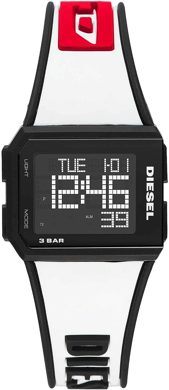 Reloj digital unisex Diesel Chopped deportivo cód. DZ1922
