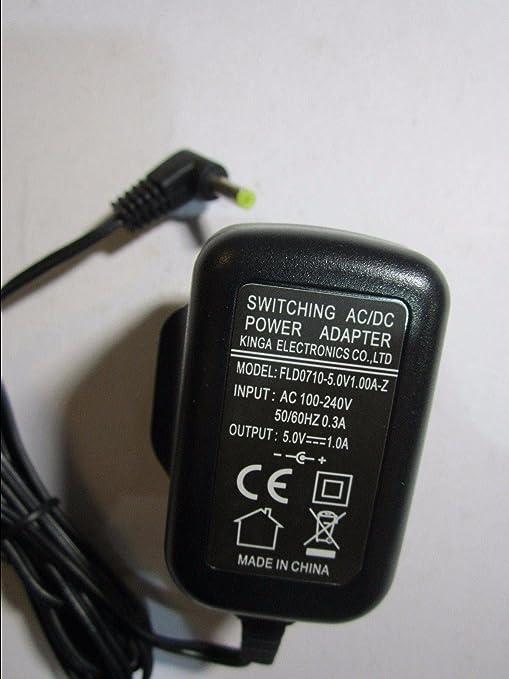Adaptador de corriente AC-DC de 5 V, 1 A, 4 bujías de