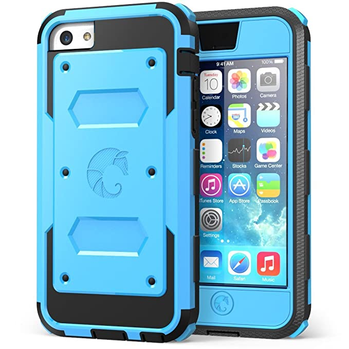 61 opinioni per i-Blason custodia per Apple iPhone 5 C Dual Layer Hybrid custodia protettiva con