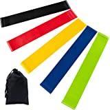 Newdora Resistance Bands Skin-Friendly Exercise Bands with 5 Different Resistance Levels Workout Resistance Bands Ideal…