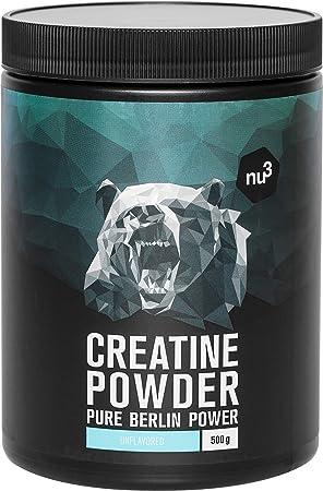 Creatina creapure en polvo - 500g de creatina pura - 100% monohidrato CREAPURE - Especial para atletas - Para mejorar el rendimiento en el ...