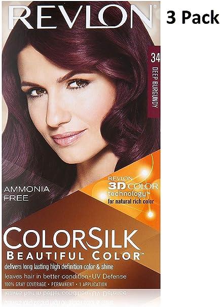 Revlon Colorsilk - Tinte permanente para el cabello (3 ...