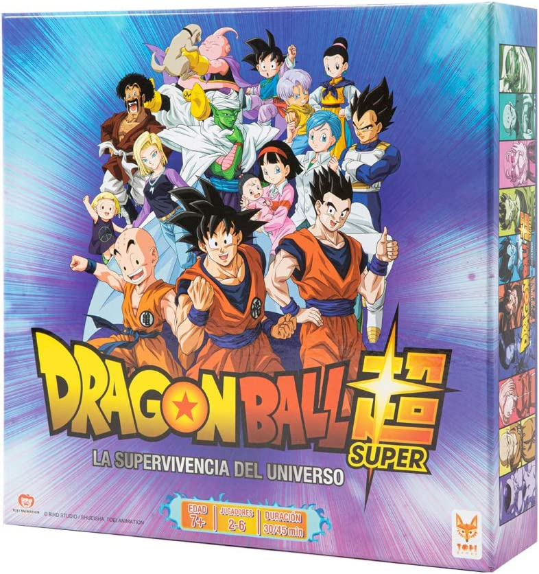 Dragon Ball - Juego de mesa Supervivencia Universal