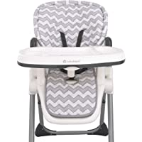 Sumersault – Soft Gray and White Chevron High Chair Pad | Easy to Install Replacement Cushion | Fits Most 3-5 Point…