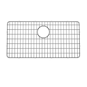 """Kraus BG3117 Stainless Steel Bottom Grid for KD1US33B Kitchen Sink, 28.9"""" x 14.6"""" x 1"""","""