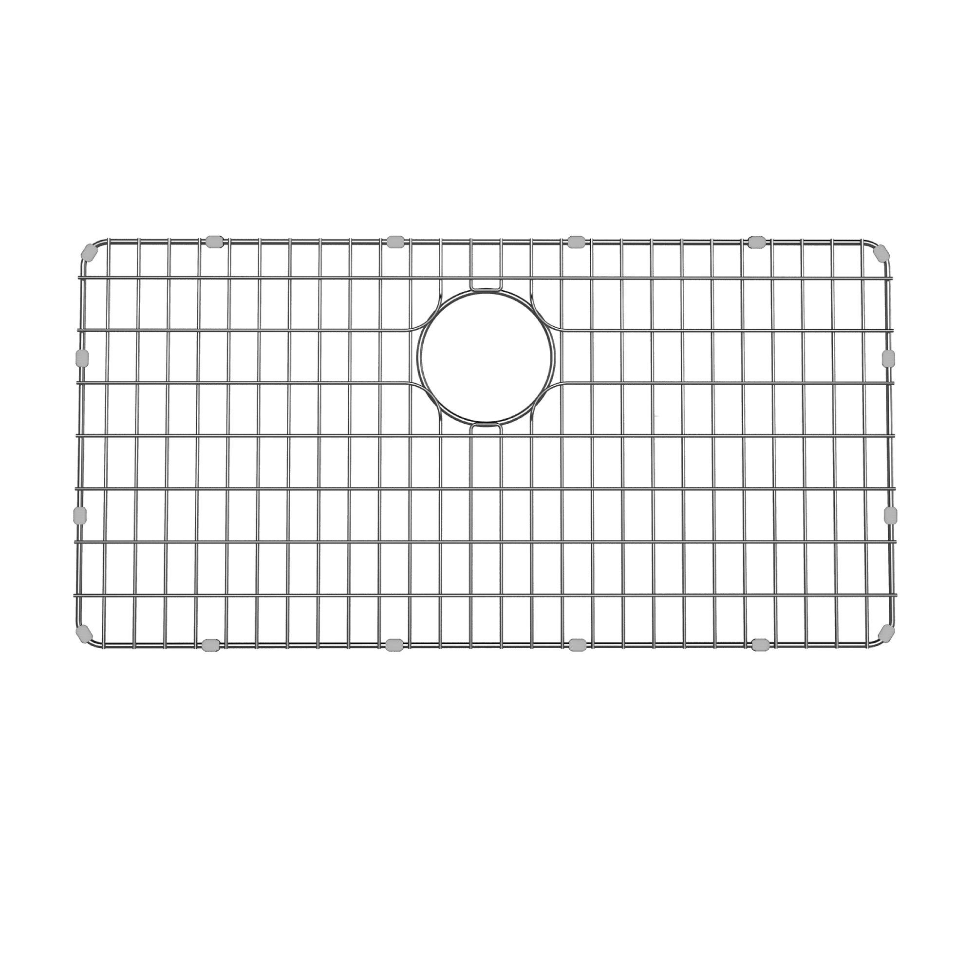 Kraus BG3117 Stainless Steel Bottom Grid for KD1US33B Kitchen Sink, 28.9'' x 14.6'' x 1''