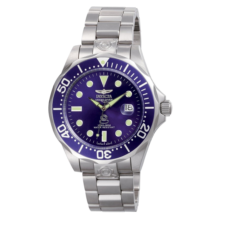 Invicta 3045 Pro Diver Reloj para Hombre acero inoxidable Automático Esfera azul
