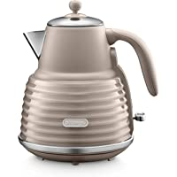 De'Longhi Scolpito Kettle,1.5 liters, 360° swivel base, Stainless steel, KBZS3001.BG, Clay Beige