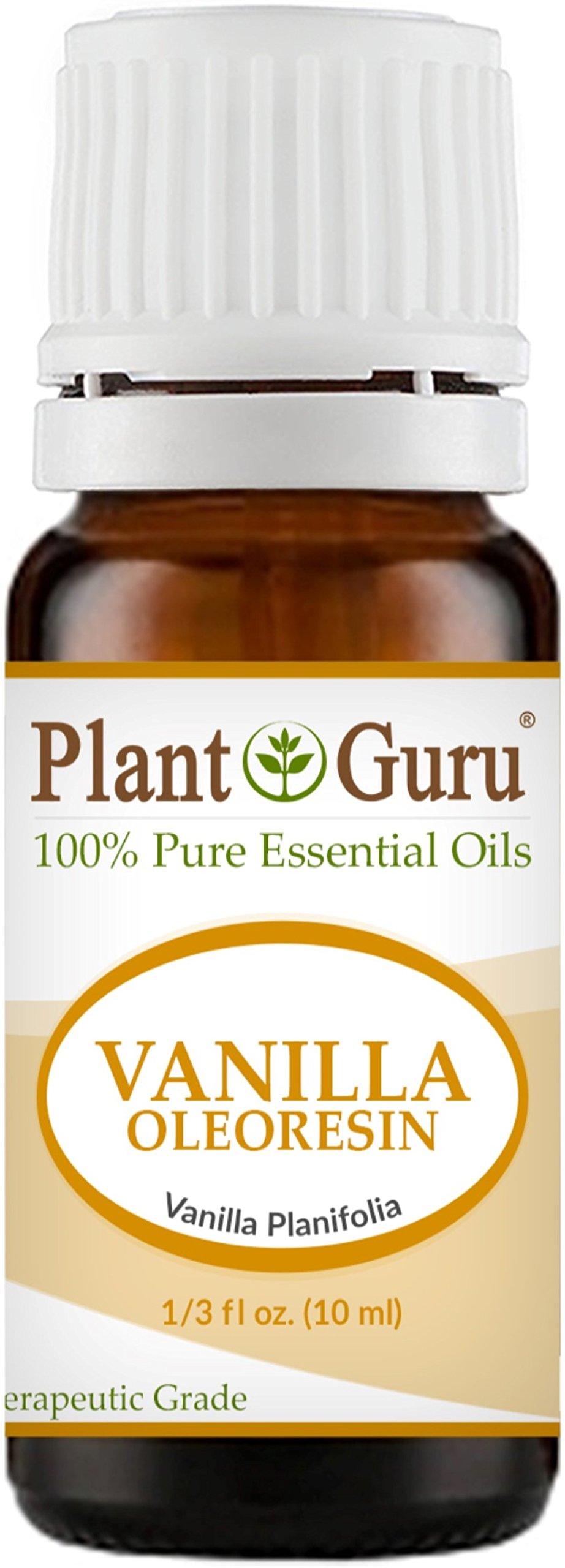 Vanilla Oleoresin Essential Oil 10 ml. 100% Pure Undiluted Therapeutic Grade. 10 Fold Extraction