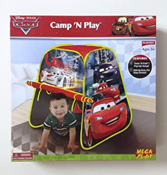 Playhut Cars C& N Play Tent  sc 1 st  Amazon.com & Amazon.com: Playhut Cars Camp N Play Tent: Toys u0026 Games