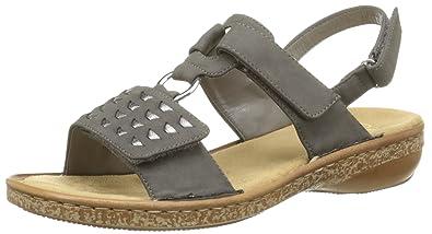 866468e96e8e Rieker 62883, Sandales Bout Ouvert Femme: Amazon.fr: Chaussures et Sacs