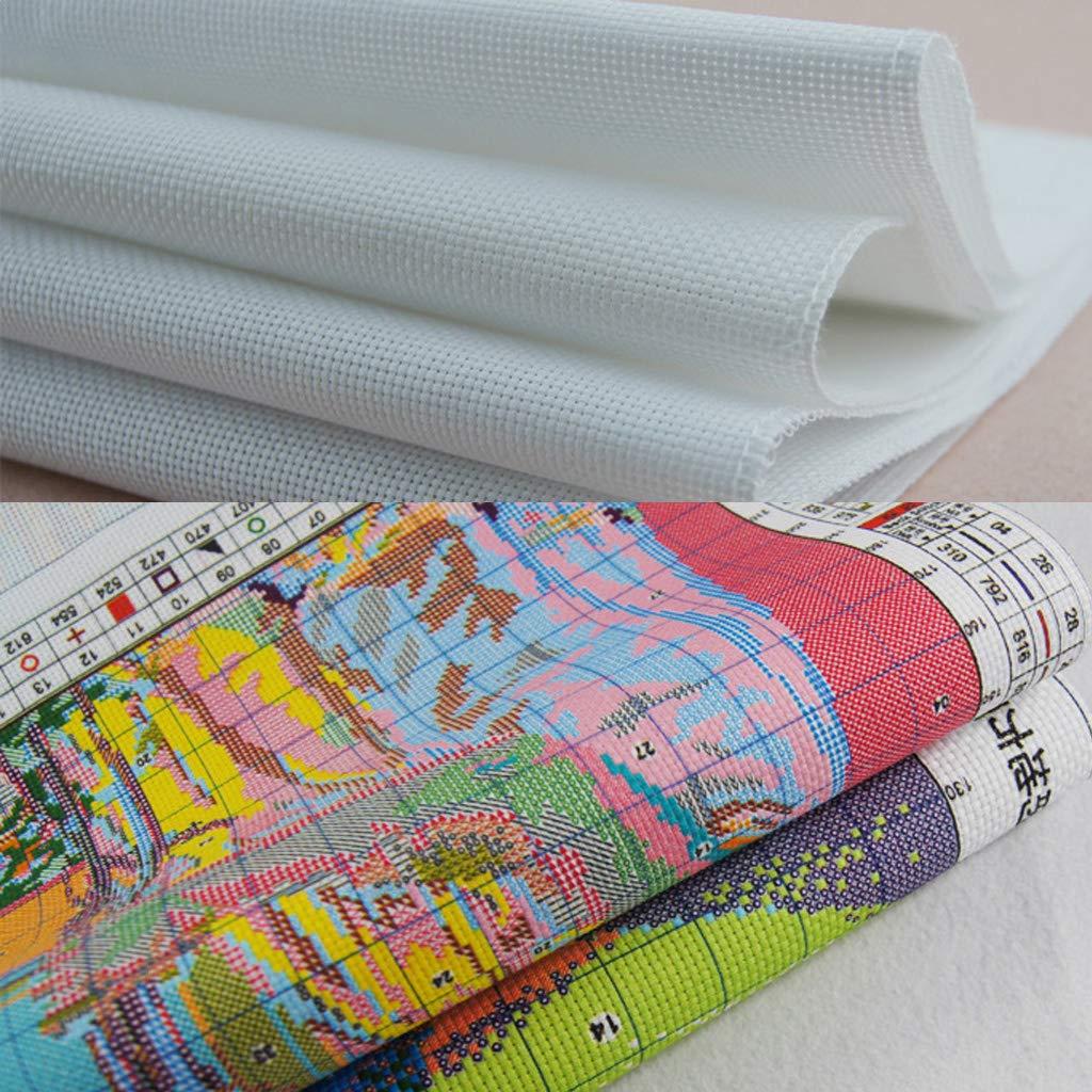 Baiyao Kreuzstich-Set,Vogel-Aprikose Stickerei DIY Handarbeit Stickpackung Set