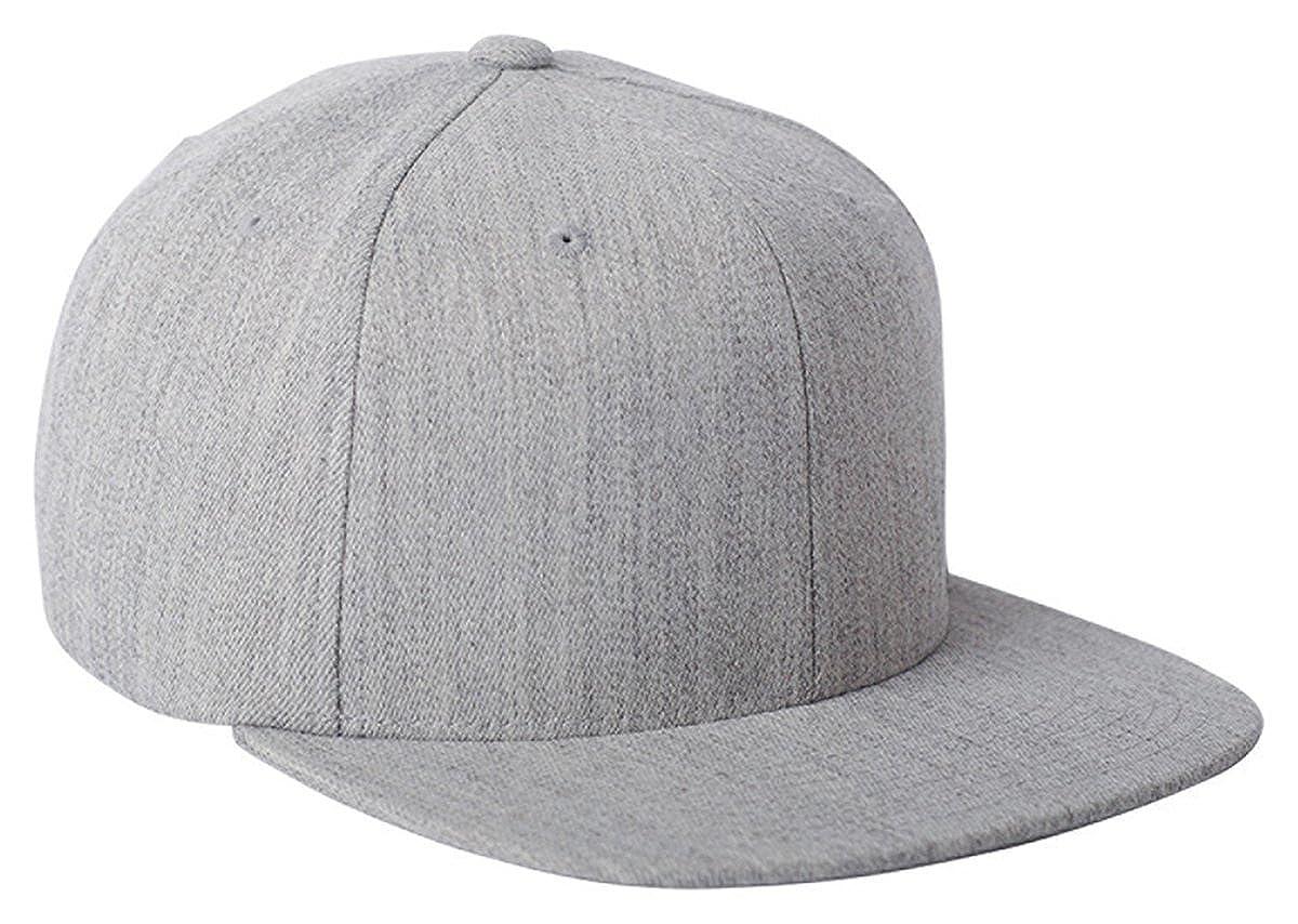 Flexfit 110F 110 Wool Blend Solid Cap - HEATHER - OS (US)  Amazon.co.uk   Clothing f9b8ed6fb49e