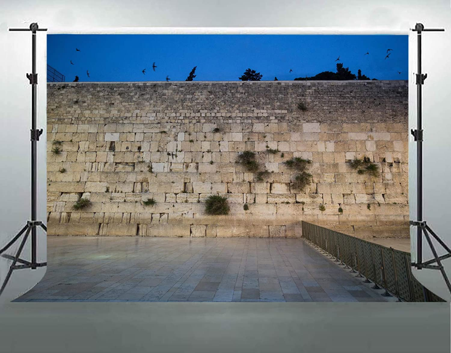 Jerusalem Western Wall Backdrop for Photography Israel City Square Backgrounds Photo Video Shooting Props Cotton Backdrop 7x5ft F-FUN SOUL DSFS023
