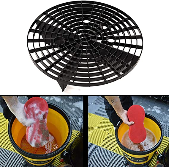 Wittyware Car Washing Bucket Bracket Fix Impurities and Prevent Your Car from Scratches During Washing