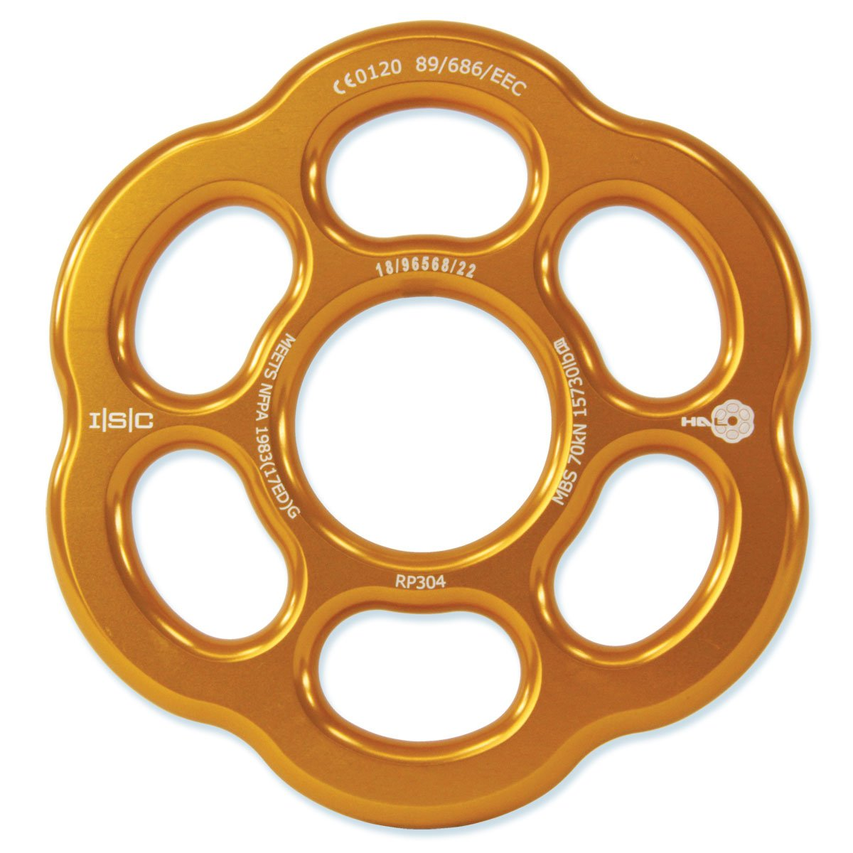 ISC Halo Rigging Plate - Large - 70 kN