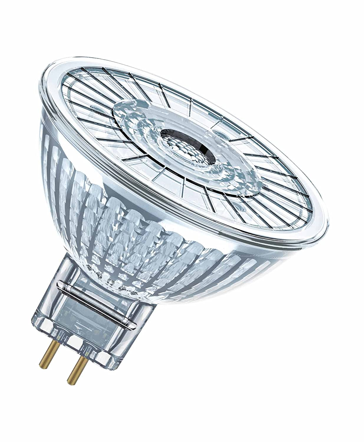 Angle : 36/° Dimmable OSRAM LED SUPERSTAR MR16 // Spot LED Lot de 10 pi/èces Blanc Chaud 2700K 7,8W Equivalent 50W 12 V Culot GU5.3