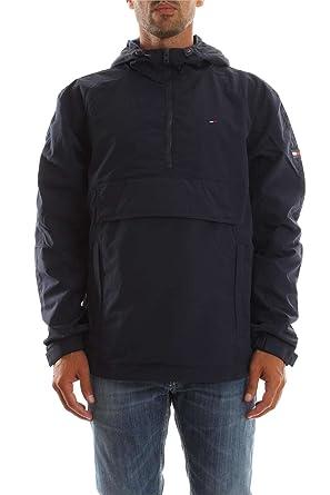 nouveau style 883ae d561f Tommy Hilfiger Denim Homme Logo Pullover Veste, Bleu, XX ...