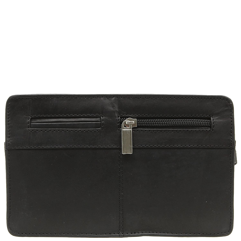 Jejo-bags/® Pochette port/é main /à dragonne en cuir v/éritable Pour homme 3/couleurs disponibles