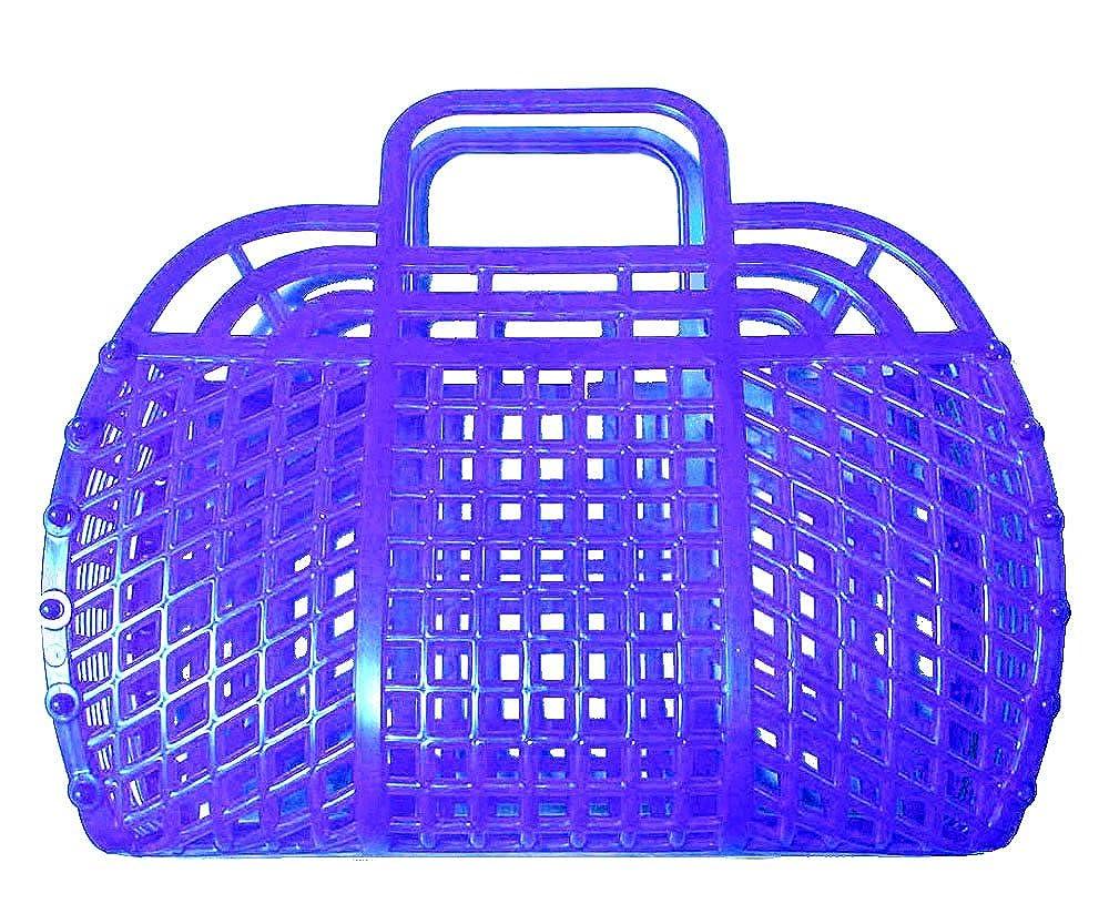 Pearl Blue The Original Retro Jelly Purse Handbag 9