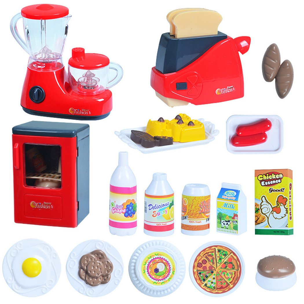 Buy fansport toy kitchen appliance toy set mini pretend play kitchen toy one size multicolor 3 online at low prices in india amazon in