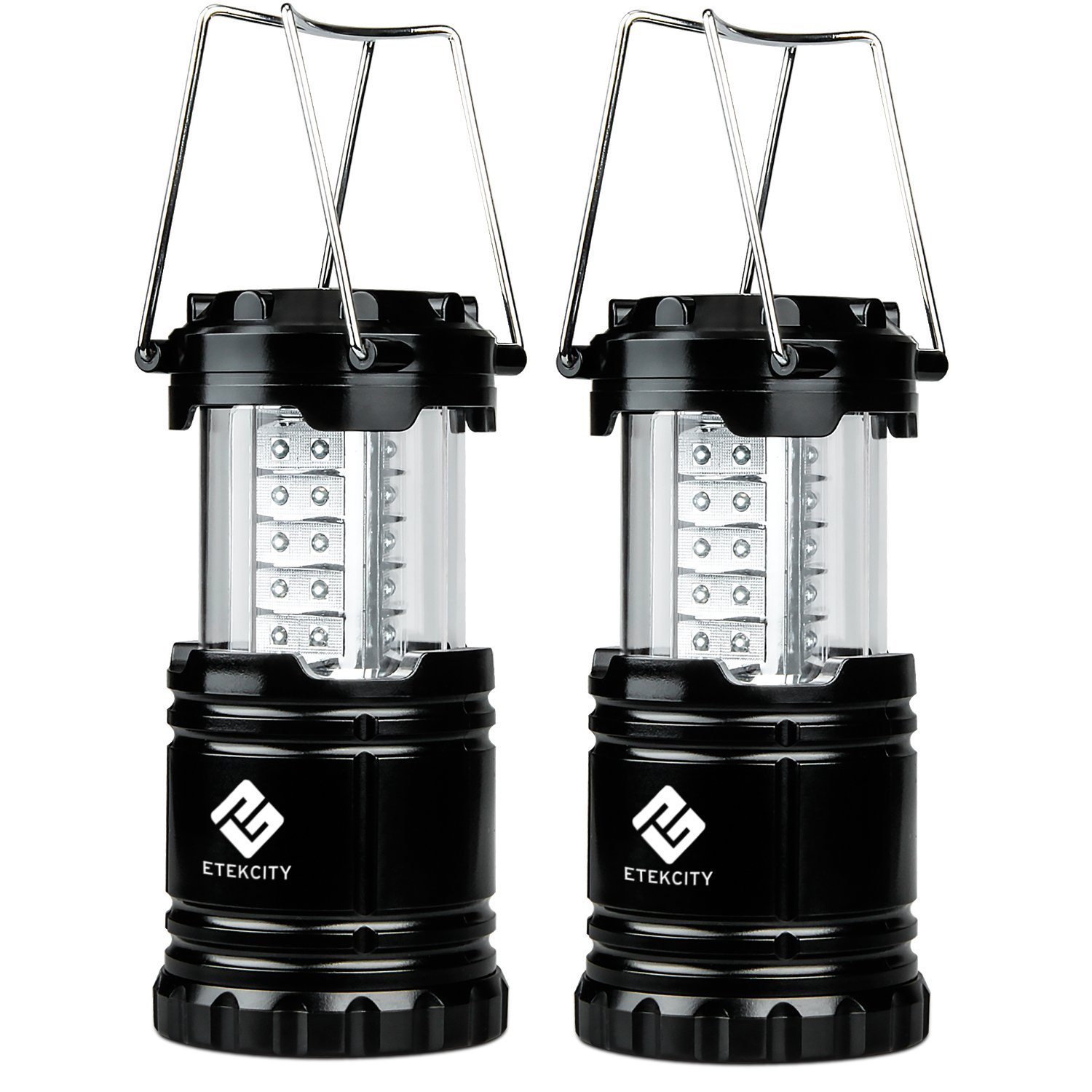 2 pack Etekcioty Portable Outdoor LED camping Lantern