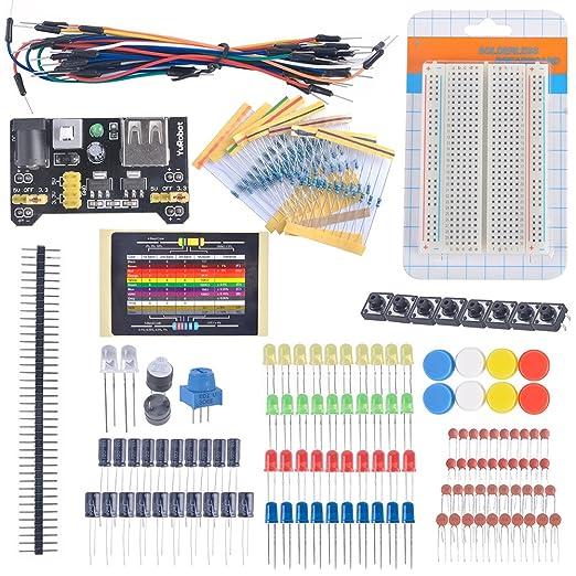 2 opinioni per DIYmall appassionati di elettronica tagliere resistenza potenziometro kit cavo