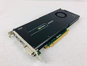 HP 671137-001 NVIDIA Quadro 4000 PCIe 2.0 x16 graphics card - With 2GB GDDR5 SDRAM memory
