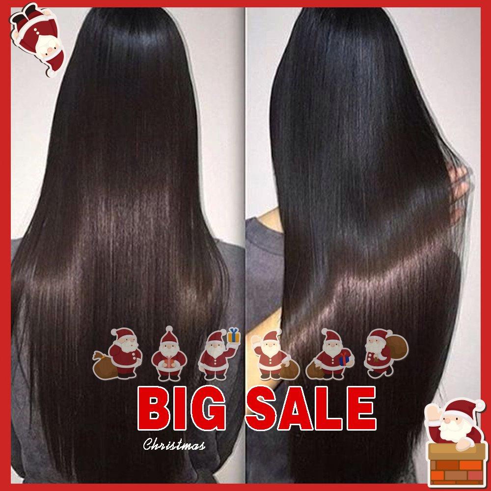 JiSheng Malaysian Virgin Hair 8a Grade Unprocessed Human Hair Extensions Cheap Human Hair Weave 4 Bundles Straight Hair Total 200g Natural Color 50g/pcs (22 24 26 26)