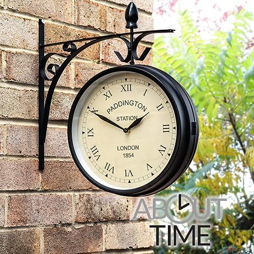 Primrose About Time Reloj de Jardin Paddington- 27cm: Amazon.es: Hogar