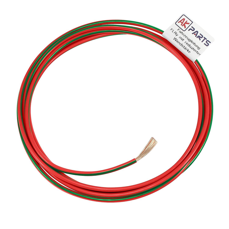 AK-Parts FLRY Fahrzeugleitung Meterware 1,00 mm/² Rosa