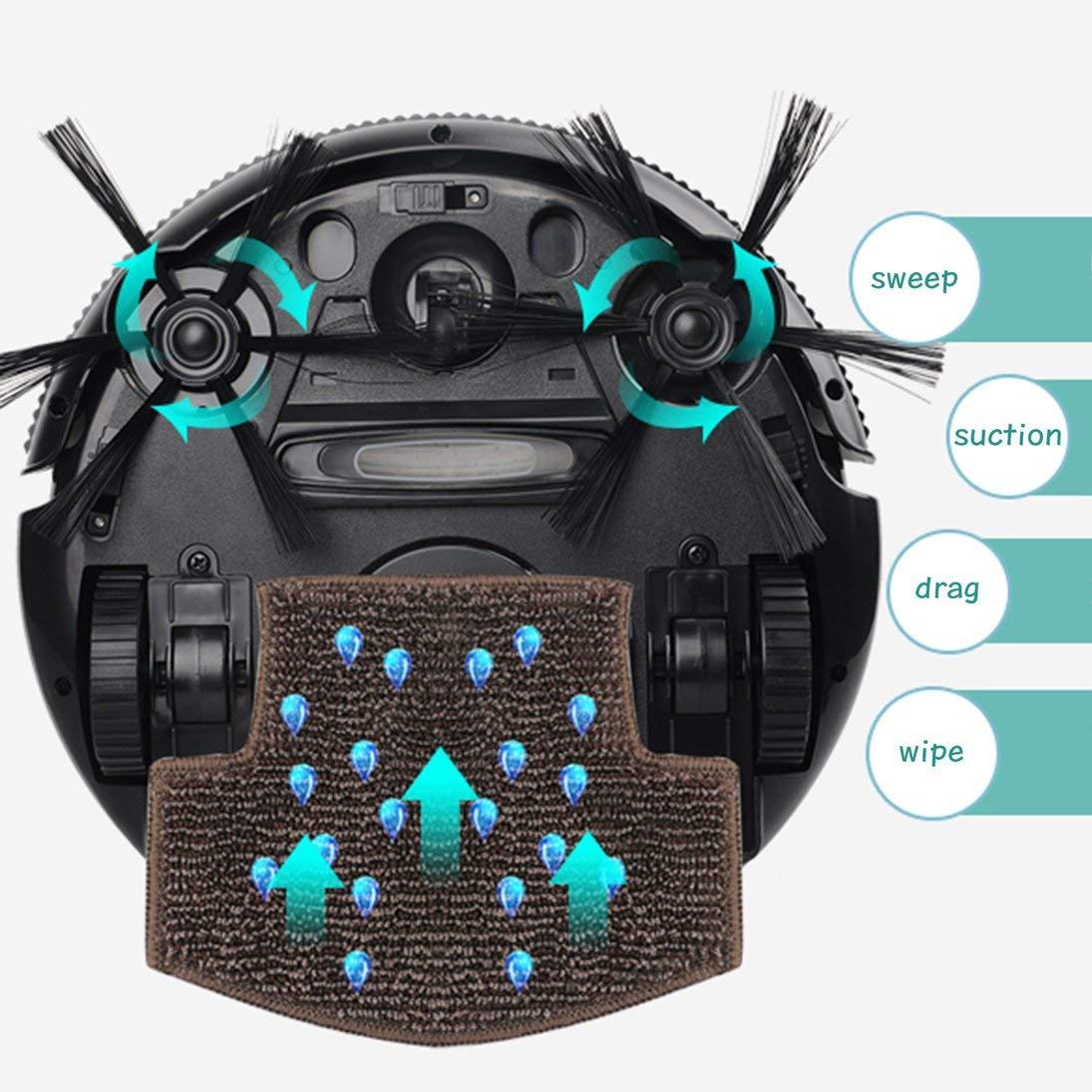 Aspirador inteligente Robot de barrido automático Limpiador ultrafino ultra fino: Amazon.es: Hogar