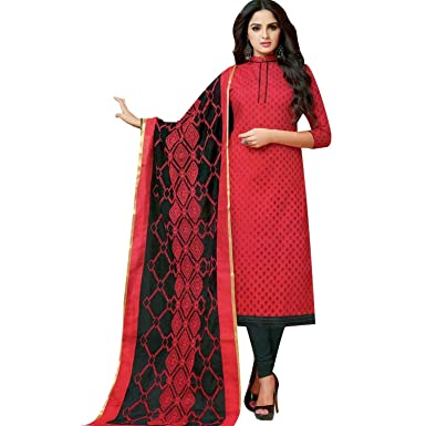 29ed51f0c5 Ladyline Blended Silk Salwar Kameez with Embroidered Dupatta Indian  Pakistani Suit Ready to Wear at Amazon Women's Clothing store: