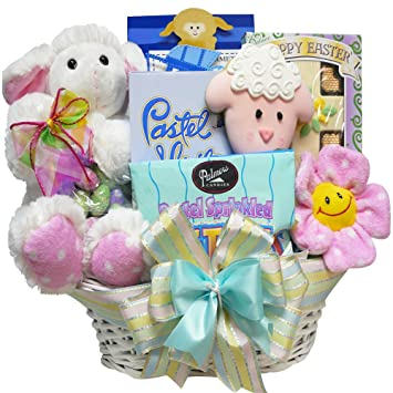 Amazon my little lamb easter gift basket gourmet chocolate my little lamb easter gift basket negle Image collections