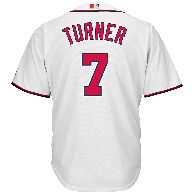 on sale 1becb 27c38 Amazon.com: Trea Turner Washington Nationals White Youth ...
