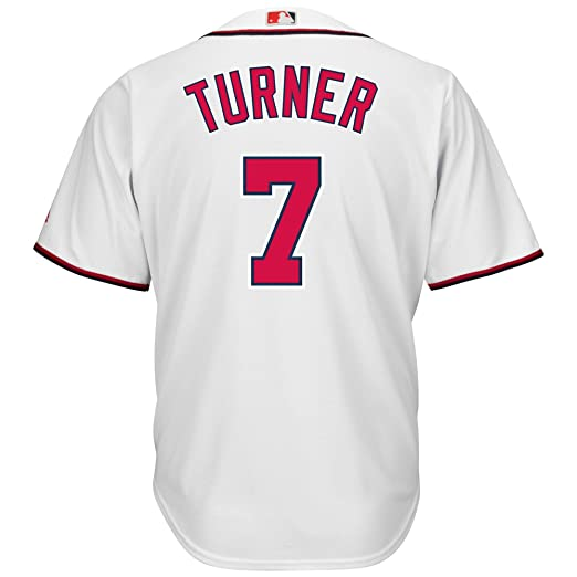 on sale d99f7 c9574 Amazon.com: Trea Turner Washington Nationals White Youth ...
