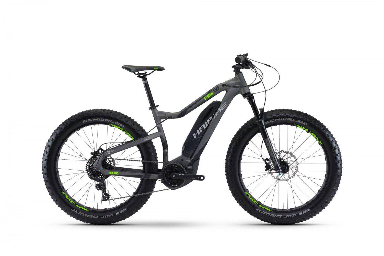 schwarz matt+anthrazit+neon grün Dekor E-Bike Sduro,f.Batteriegehäuse    2017